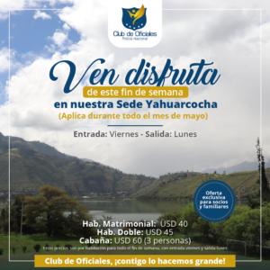 Yahuarcoha hospedaje